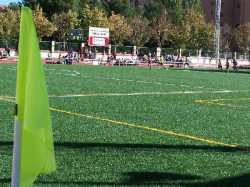 Campo de Futbol Garcia Traid tras ser incorporado al Plan de Mejora