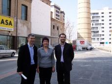 Fachada del Edificio CUBIT, impulsado por CHA, que albergará la Biblioteca Tecnológica cuando el PSOE-PAR quieran