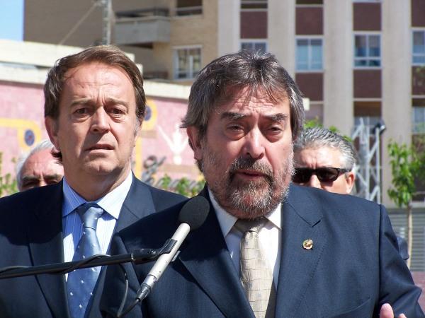 Juan Alberto Belloch y su Tte. Alcalde de Urbanismo
