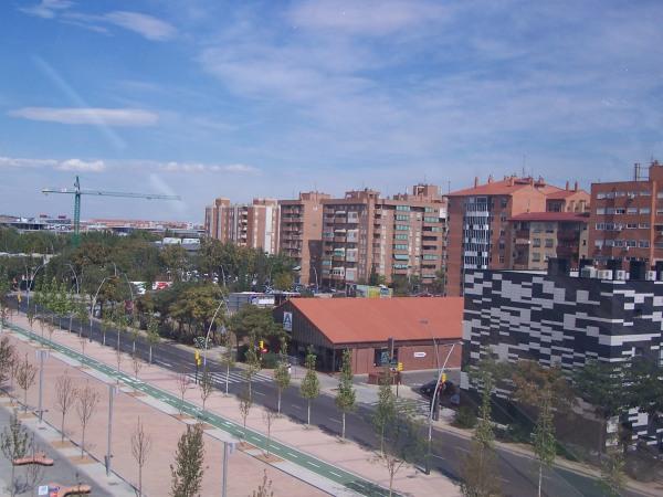 Las obras del acceso a la Expo dejaron a La Almozara sin acceso directo al tercer cinturón