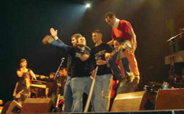 GRUPO DE MUSICA QUE GANÓ EL POPYROCK EN 2006