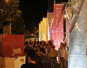 Jóvenes en la fiesta organizada para presentar CUBIT... ¡¡¡en 2006!!!