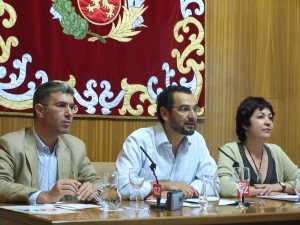 Concejales de CHA en el Ayuntamiento de Zaragoza