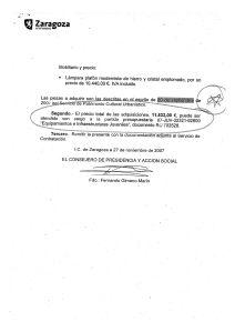 Prueba de cómo el PSOE-PAR desvia dinero de acción social y juventud para comprar muebles de lujo
