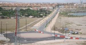 Terrenos de Arcosur con Valdespartera al fondo. Foto de El Periódico de Aragón