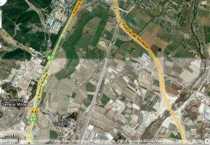 En estos terrenos industriales en la carretera Huesca, PSOE-PAR permitirá construir 10.000 viviendas