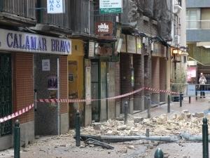 Calle Moneva. Foto Aragón Press