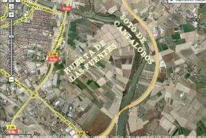 huerta-de-las-fuentes-y-soto-cantalobos en donde Belloch quiere construir 10.000 vivendas