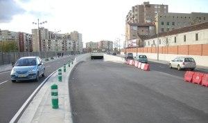 Túnel de acceso y salida de Zaragoza, cerrado por la incompentecia de Belloch
