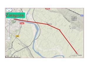 Prolongación de la línea de bus ZGZ-Movera-Pastriz