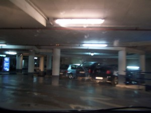 Un aparcamiento en Zaragoza