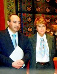 Foto Periódico de Aragón. Antonio Becerril y María Victoria Pinilla, alcaldesa de La Muela e imputada por delitos de corrupción