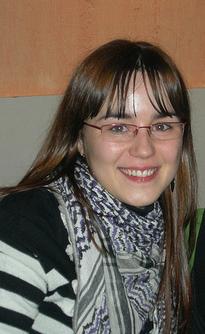 Julia Cortés, vocal de CHA en Delicias