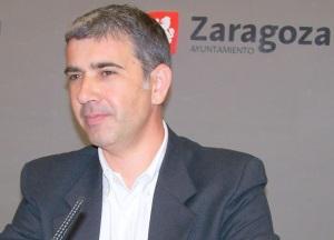 Juan Martín, portavoz de CHA en el Ayuntamiento de Zaragoza