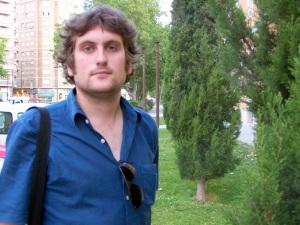 Pedro Julio Martín, vocal de CHA en Actur-Rey Fernando-Parque Goya