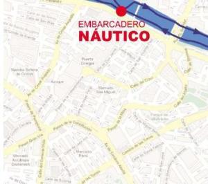 Mapa en el que sale la calle del General Mola