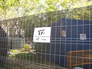 Bulevar de Gran Vía cerrados por las obras del Tranvía en Zaragoza
