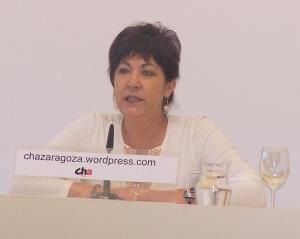 Carmen Gallego, concejala de CHA en el Ayuntamiento de Zaragoza