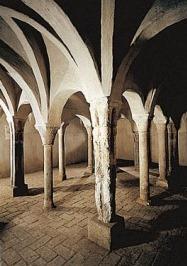 Los Baños judíos de Zaragoza están ubicados en los sótanos de un edificio de viviendas