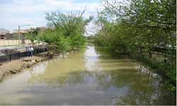 Canal Imperial a su paso por San José