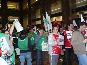 Los sindicatos municipales han protagonizado diferentes propuestas durante el pleno de hoy