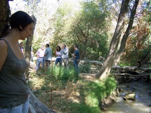 Leticia Crespo ante el único riego que recibe el Soto.